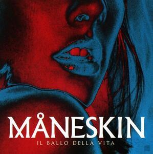 Vinile Il ballo della vita (Blue Coloured Vinyl) Maneskin