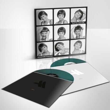 Tutto accade (Green Coloured Vinyl) - Vinile LP di Alessandra Amoroso - 2