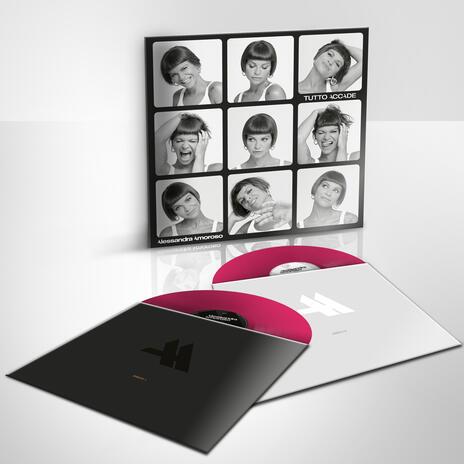 Tutto accade (Esclusiva IBS.it - Pink Coloured Vinyl) - Vinile LP di Alessandra Amoroso - 2