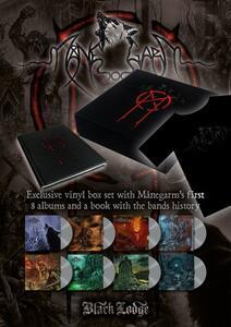 Manegarm 8 LP Boxset + Book (Box Set + libro + T-Shirt taglia M) - Vinile LP di Manegarm