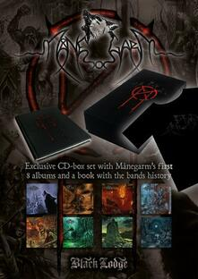 Manegarm 8 CD Boxset + Book (Box Set + libro + T-Shirt taglia M) - CD Audio di Manegarm