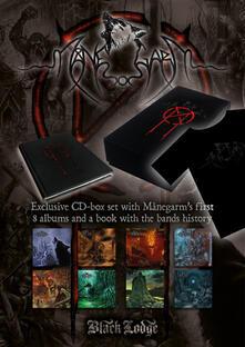 Manegarm 8 CD Boxset + Book (Box Set + libro + T-Shirt taglia XL) - CD Audio di Manegarm