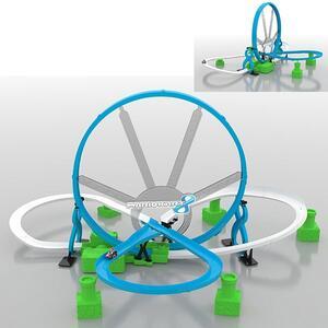 Pista Mario Kart Deluxe Loop + Racer - 2