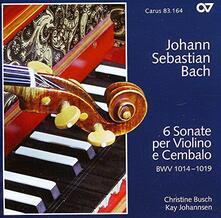 Sonate n.1, n.2, n.3, n.4, n.5, n.6 - CD Audio di Johann Sebastian Bach