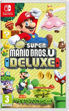 Nintendo New Super Mario Bros. U Deluxe, Switch videogioco Nintendo Switch Inglese, ESP