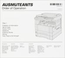 Order of Operation - CD Audio di Ausmuteants