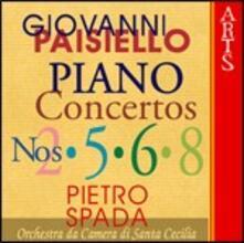 Concerti per pianoforte vol.2 - CD Audio di Giovanni Paisiello,Orchestra da camera di Santa Cecilia,Pietro Spada
