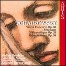 Concerto per violino - CD Audio di Pyotr Ilyich Tchaikovsky,Vadim Brodsky,Andrej Straszynski