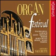 Organ Festival - CD Audio di Arturo Sacchetti