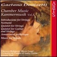 Musica da camera vol.3 - CD Audio di Gaetano Donizetti