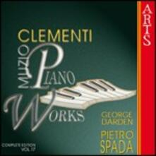 Musica per pianoforte vol.17 - CD Audio di Muzio Clementi,Pietro Spada