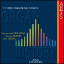 Trascrizioni per organo francesi - CD Audio di Arturo Sacchetti