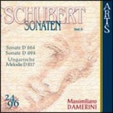 Sonate per pianoforte vol.4 - CD Audio di Franz Schubert,Massimiliano Damerini