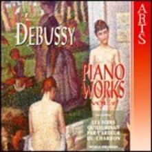 Opere per pianoforte vol.2 - CD Audio di Claude Debussy,Jean-Pierre Armengaud