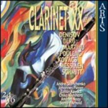 Musica del XX secolo per clarinetto - CD Audio