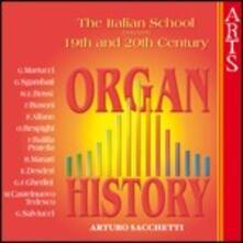 Scuola italiana d'organo - CD Audio di Arturo Sacchetti