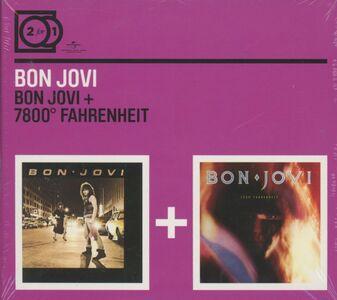 CD Bon Jovi - 7800 Fahrenheit di Bon Jovi