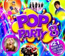 Pop Party 8 - CD Audio