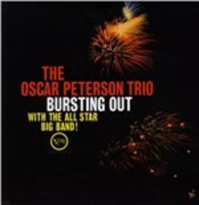 Bursting Out with the All Star Big Band! - Vinile LP di Oscar Peterson