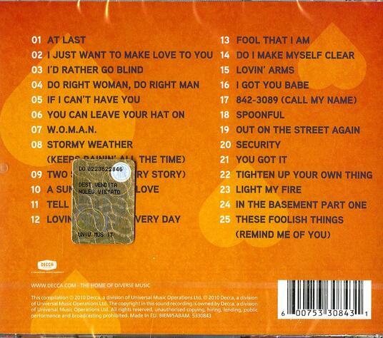 At Last - CD Audio di Etta James - 2