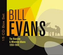 The Riverside & Milestone Albums 1956-1963 (Box Set) - CD Audio di Bill Evans