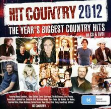 Hit Country 2012 - CD Audio