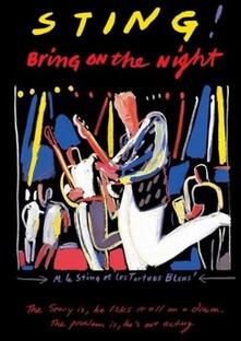 Sting. Bring on the Night<span>.</span> Limited Edition - Blu-ray