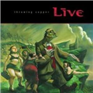 Throwing Copper - Vinile LP di Live