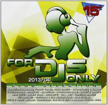 For DJ's Only 2013/04 - CD Audio
