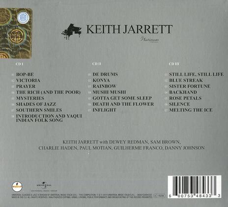 The Platinum Collection - CD Audio di Keith Jarrett - 2