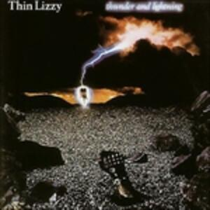Thunder and Lightning - Vinile LP di Thin Lizzy