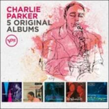 5 Original Albums (Box Set) - CD Audio di Charlie Parker