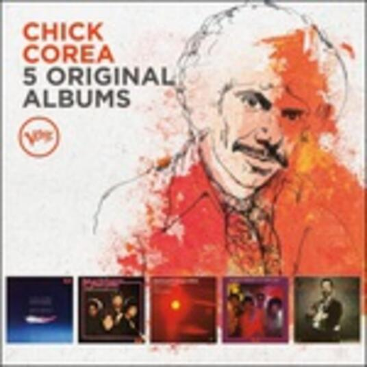 5 Original Albums (Box Set) - CD Audio di Chick Corea