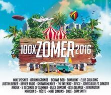 100x Zomer 2016 - CD Audio