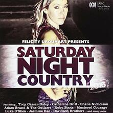 Saturday Night Country - CD Audio