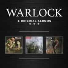 3 Orgiginal Albums - CD Audio di Warlock