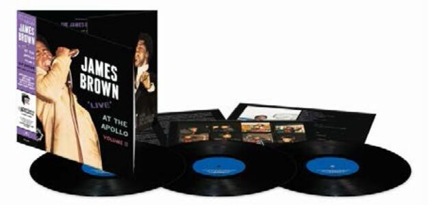 Live at the Apollo vol.2 - Vinile LP di James Brown - 2