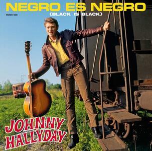Negro Es Negro - Vinile LP di Johnny Hallyday