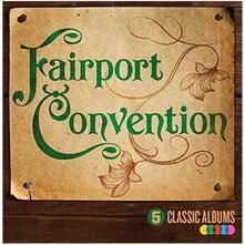 5 Classic Albums Vol 2 - CD Audio di Fairport Convention