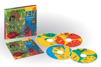 CD The Girl from Ipanema (Box Set) Stan Getz