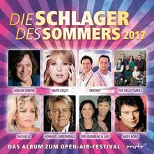 Schlager des Sommers 2017 - CD Audio