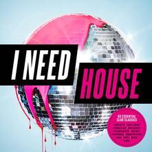 I Need House - CD Audio
