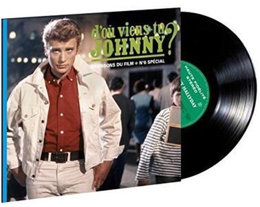 D'Ou Viens Tu Johnny? - Vinile LP di Johnny Hallyday