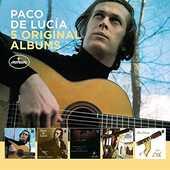 CD 5 Original Albums Paco De Lucia