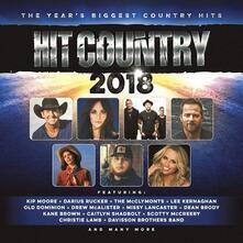 Hit Country 2018 - CD Audio