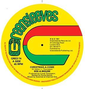 Christmas a Come - Vinile LP di Eek-A-Mouse