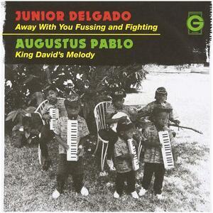 Away With You Fussing & Fighting - Vinile 7'' di Junior Delgado