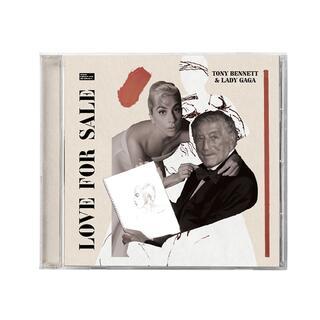 CD Love for Sale Tony Bennett Lady Gaga