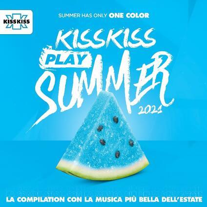 Kiss Kiss Play Summer 2021 - CD Audio