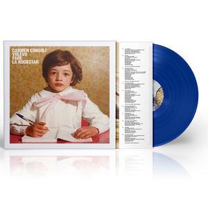 Vinile Volevo fare la Rockstar (Esclusiva IBS.it - Limited, Numbered & Blue Coloured Vinyl) Carmen Consoli